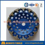Meule abrasive d'outil de diamant de fabrication de la Chine avec le certificat