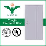 Porte évaluée de chambre de hôtel de porte d'incendie de 1 heure