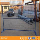Cerca removível de cerco provisória galvanizada da cerca da construção do standard alto de Canadá