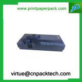 Rectángulos cosméticos de papel de lujo hechos a mano impresos aduana del perfume de la pequeña manera