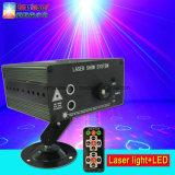 3 lens 48 Lichtblauwe LEIDENE van de Projector van de Laser van Patronen Rode Groene MiniLaser toont Systeem met Afstandsbediening
