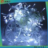 Da luz comercial da corda dos edifícios da decoração do Natal luzes feericamente da corda