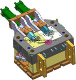 Molde para aleaciones de bloque de soporte, de fundición inyectada