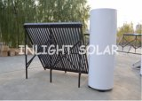 暖房のための分割された圧力ヒートパイプの太陽暖房装置