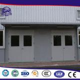Portello prefabbricato professionale del garage dell'acciaio inossidabile
