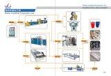 Vollautomatische Plastikfilterglocken, die Maschine herstellen