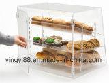 Изготовленный на заказ акриловая коробка хлеба с дверью (YYB-078)