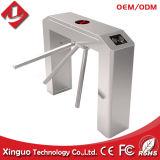 Semi Automatische Turnstile van de Driepoot met de Lezer van de Kaart RFID voor Kantine