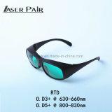 Óculos de Segurança de laser de alta potência com protecção de 808nm a remoção de pêlos diodos laser 635nm equipamento da pele