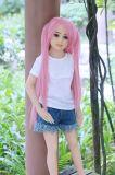 108cm japanische flache Brust-Silikon-Geschlechts-Puppen, Geschlechts-Spielzeug-Mädchen-Puppe