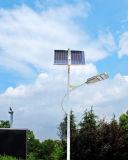 Éclairage extérieur solaire de route de réverbère de la haute énergie 96W DEL avec la FCC de la CE