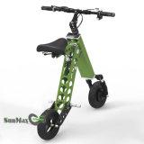 Велосипед тучной автошины 10 дюймов электрический сложенный