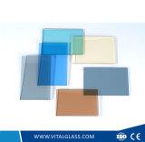 4-10mm金青銅または青銅色か明確なまたは染められたフロートガラス