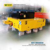 Trasportatore elettrico materiale pesante del carrello di trasferimento che funziona sulla guida