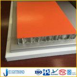 Panneau en aluminium de nid d'abeilles de fournisseur de la Chine pour la cloison de séparation de salle de bains