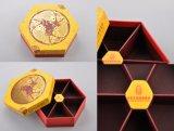贅沢によってカスタマイズされるCmykのボール紙のペーパー多角の包装ボックス