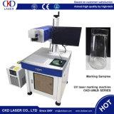 Macchina UV della marcatura del laser per non la plastica del metallo di vetro