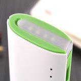 batería rápida de la potencia de la carga 10000mAh con el USB de la luz 3 de la noche del LED