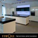 De Kabinetten van de melamine voor de BasisEenheden van de Keuken met Wit polijsten het ontwerp tivo-0071h van de Douane van de Lak