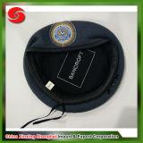大人の熱い販売の安い高品質の灰色のカスタム高品質のクラシックのベレー帽