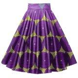 Cire Print Ankara African Clothes Femme Long Maxi Jupes