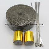 Involucro di ceramica di calore dello scarico del basalto di titanio con i legami d'acciaio