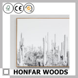 Bâti normal de photo d'illustration en bois solide d'art de mur pour la décoration