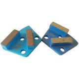 Конкретные алмазные шлифовальные два сегмента ножа шлифовальный башмак