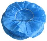 Крышки толпа Ly устранимые Nonwoven/крышка зажима/Hairnet/хирургическая крышка голубая/цвет зеленого цвета/белых