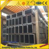 Perfil de extrusão de alumínio Cortina de alumínio para construção