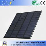 pila solare del mini della pila solare di 3W 12V animale domestico policristallino del comitato per la prova e sistema solare di DIY