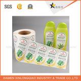 Autoadesivo di carta autoadesivo stampato impermeabile della modifica di servizio di stampa del contrassegno della decalcomania
