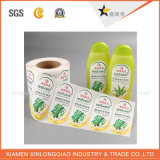Etiqueta engomada de papel auta-adhesivo impresa impermeable de la etiqueta del servicio de impresión de la escritura de la etiqueta de la etiqueta