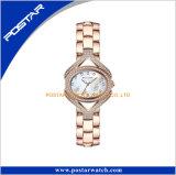 Postar de la mujer de la banda de Acero Inoxidable Relojes de cuarzo estilo Simple señora Ver en China