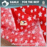 Baumwollgewebe 100% mit dem Stern gedruckt für Kleid