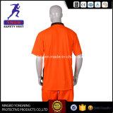 Camisa longa e longa de segurança com reflexão longa
