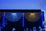Ce&RoHSはLEDの通りの装飾のための屋外のカーテンのネットライトを承認した