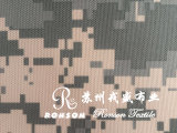 210d Oxford tela revestida de tela de camuflaje de tela tienda