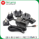 12V 1A Au/EU/UK/Us Stecker-Qualität Wechselstrom-Spannungs-Adapter