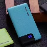 Portable PU Texture 6000mAh USB Power Bank pour tous les périphériques Samrtphone