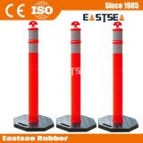 Orange / Blanc LDPE T-Top Delineator Poster
