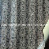 Surface de serpent recto-verso (QDL PU Chaussures en cuir-SP038)