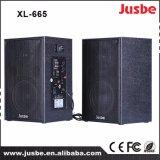 Фабрика XL-665 продавая реального ядрового ПРОФЕССИОНАЛЬНОГО диктора DJ аудиоего 60W
