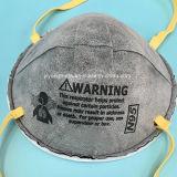 Respirador N95 con el carbón y la válvula Ffp2 que protegen contra virus
