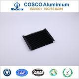 Dissipatore di calore di alluminio d'anodizzazione di colore per il consumatore elettronico