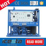 Icesta 10t/24hrs industrielle Gefäß-Eis-Maschinen für Verkauf