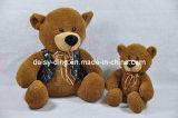 Luxuoso que senta ursos bonitos com material macio