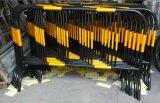 Barriera portatile di controllo di folla del tubo d'acciaio rivestito dello zinco per la recinzione di Teporary
