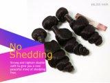 Brasilianische Remy Haar-Sprung-Wellen-natürliche Farbe drei Stücke in einem Satz