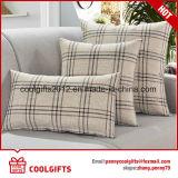 Cuscino decorativo della tela del cotone della vita della manovella della multi pianura all'ingrosso di formato